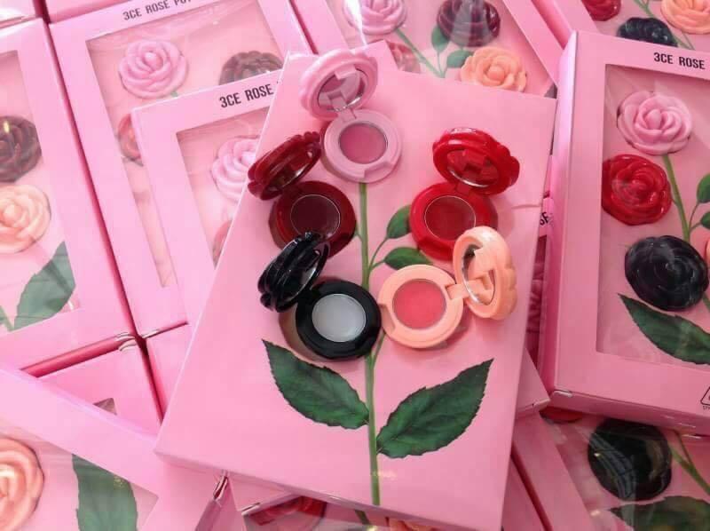 3CE Rose POT Lip ลิปบาล์มกุหลาบ 5 สี