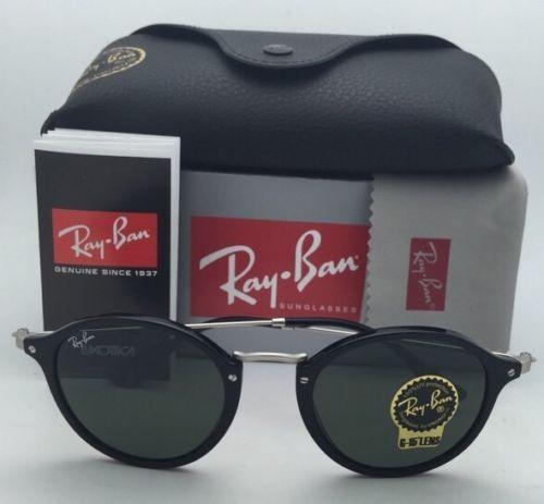 Ray Ban RB2447F 901 ROUND FLECK G-15 lenses