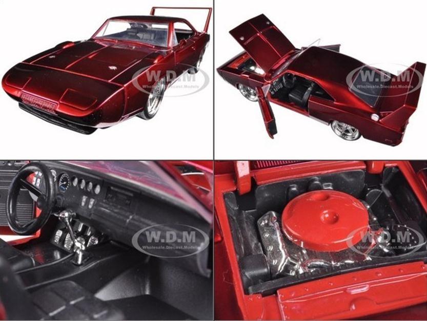 โมเดลลรถ โมเดลรถเหล็ก โมเดลรถยนต์ 1969 dodge fast 7 1