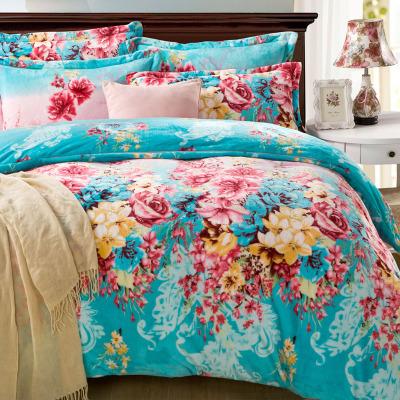 ชุดผ้าปูที่นอนลายดอกไม้