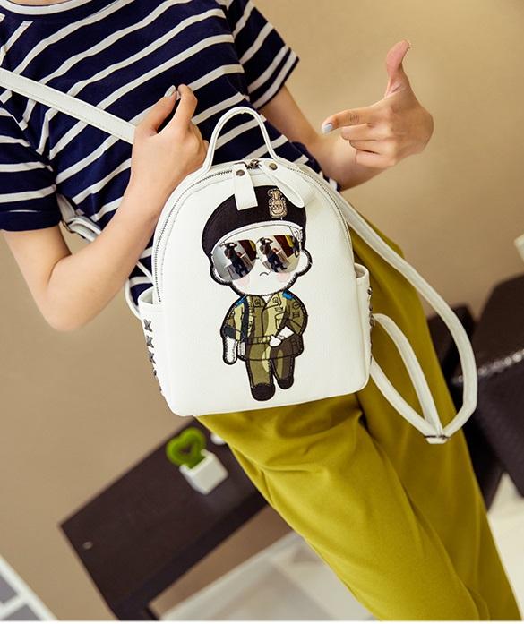 กระเป๋าเป้ Korea Yu (มี 4 สี) กัปตันยู
