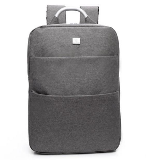 กระเป๋าเป้ Notebook Baisirui High quality (สีเทาเข้ม)