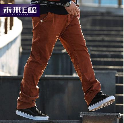 [พรีออเดอร์] กางเกงแฟชั่นเกาหลีผู้ชายไซต์ใหญ่ size 34 - 48 ขายาว - [Preorder] Plus size Men ฺKorean Hitz size 34 - 48 Long Trousers