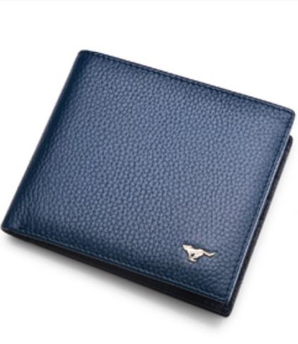 กระเป๋าสตางค์ผู้ชาย Septwolves สีน้ำเงิน