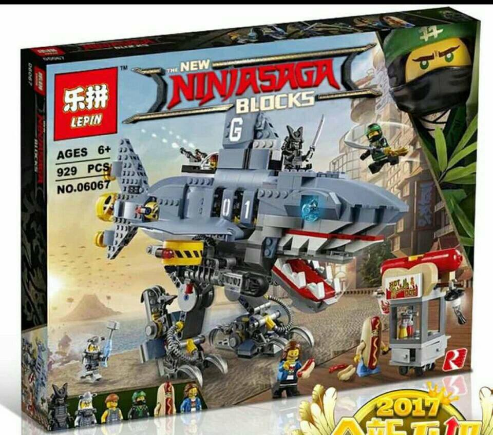 เลโก้จีน LEPIN.06067 ชุด Ninja Go Movie garmadon, Garmadon, GARMADON!