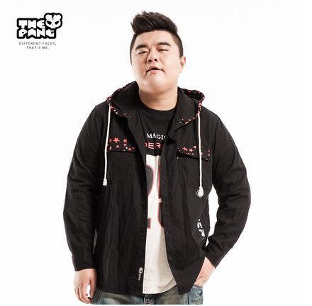 พรีออเดอร์ เสื้อแจ๊คเก็ตกันหนาว ไซต์ XL - 5XL แฟชั่นเกาหลีสำหรับผู้ชายไซต์ใหญ่ แขนยาว เก๋ เท่ห์ - Preorder Large Size Men Size XL - 5XL Korean Hitz Long-sleeved Jacket