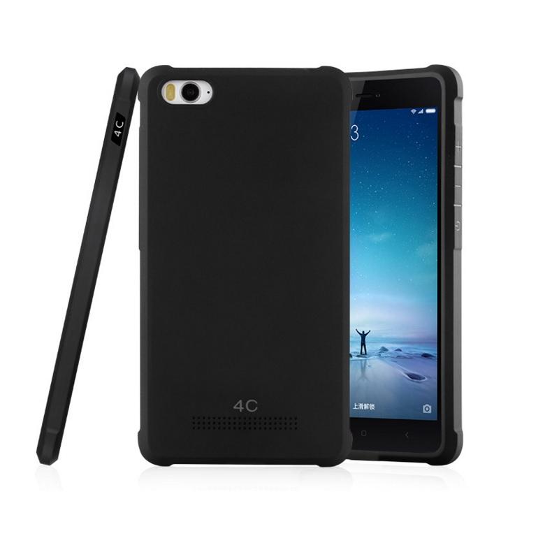 Xiaomi Mi4c / Mi4i Simple TPU (Black)