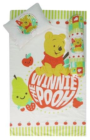 ชุดที่นอนฟองน้ำ Pooh apple ขนาด M