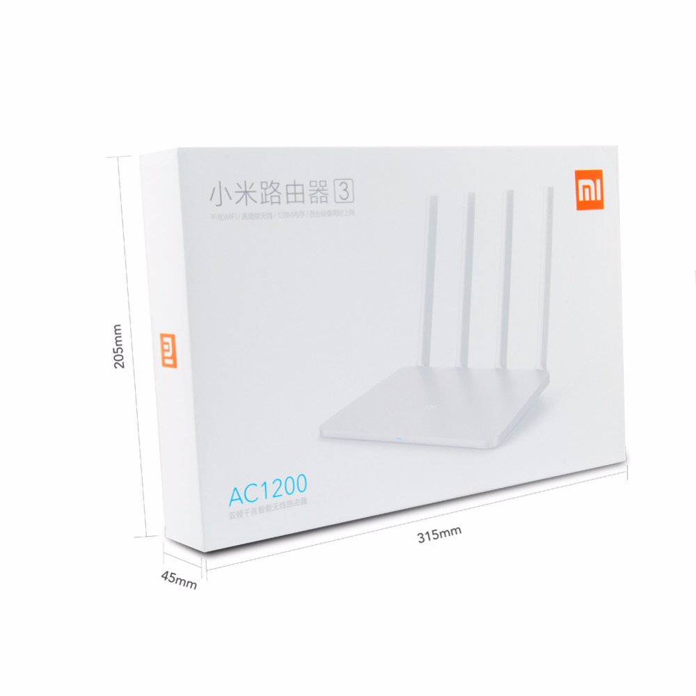Xiaomi Mi Wifi Router v 3 (English Version) - อุปกรณ์เสริม Xiaomi