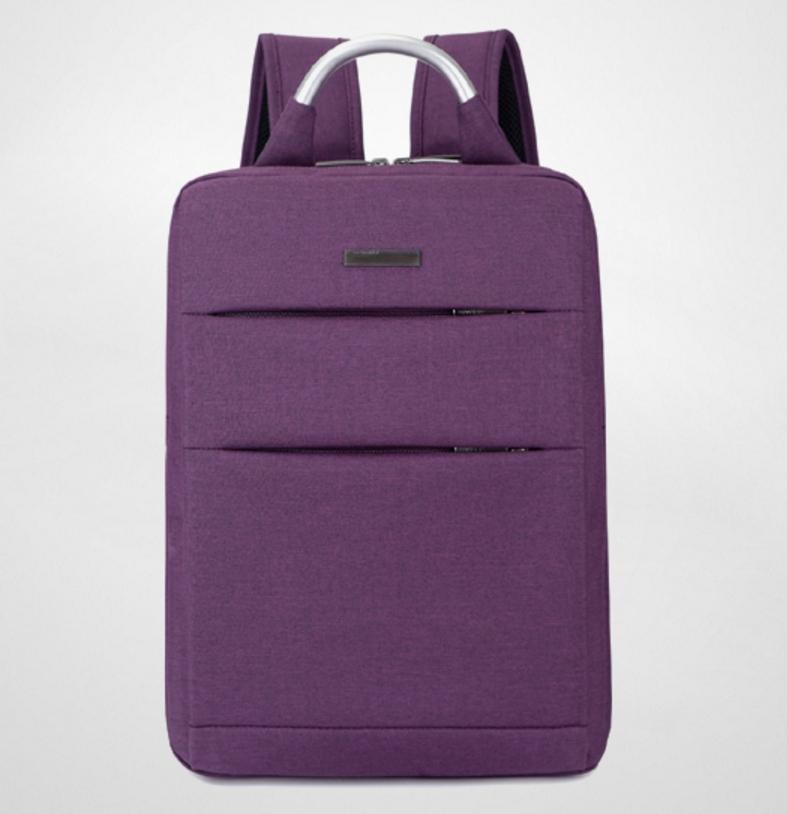 กระเป๋าเป้ Notebook New style super quality (สีม่วง)