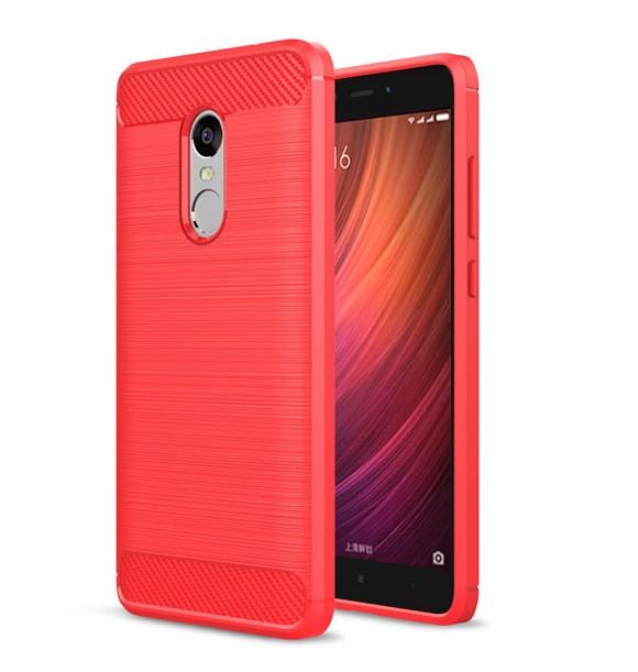 เคส Xiaomi Redmi Note 4X Soft TPU (สีแดง)