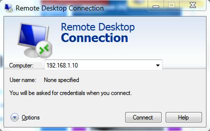 ทดสอบการ Remote Desktop
