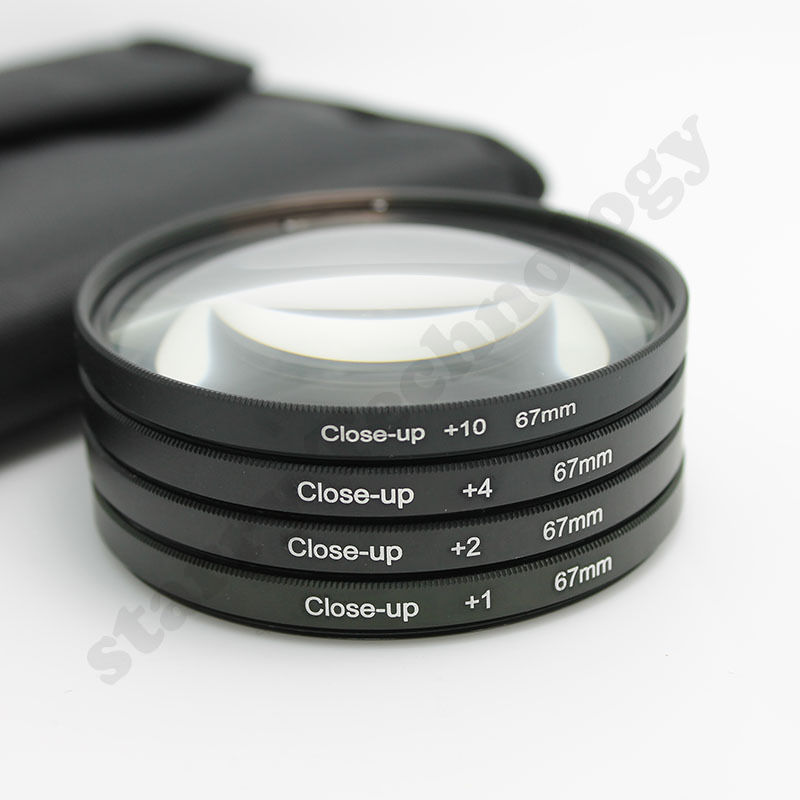 Filter Close UP +1 +2 +4 +10 Set 67 mm