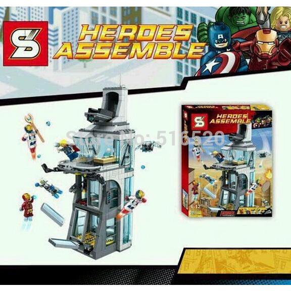 เลโก้จีน SY 370 ชุด Avengers Tower