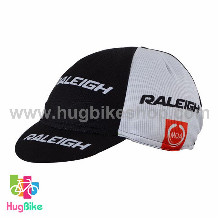 หมวกแก๊บ Raleigh 13 (01) สีขาวดำ