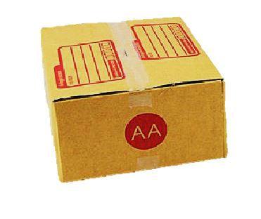 กล่องเบอร์ AA ขนาด 13 X 17 X 7 cm. ใบละ 2.4 บาท