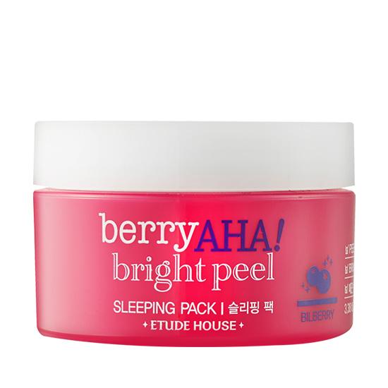Etude House Berry AHA Bright Peel Sleeping Pack 100ml.