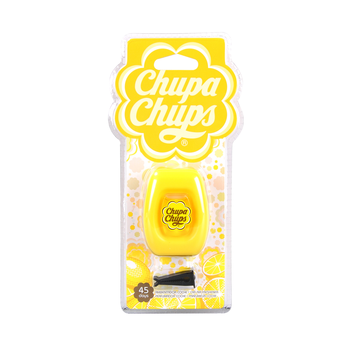Chupa Chups น้ำหอมปรับอากาศช่องแอร์แบบเหลี่ยม กลิ่น Lime Lemon (มะนาว)
