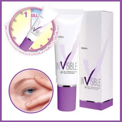 Mistine Invisible Eye Cream มิสทีน อินวิสซิเบิล อาย ครีม 15 g.