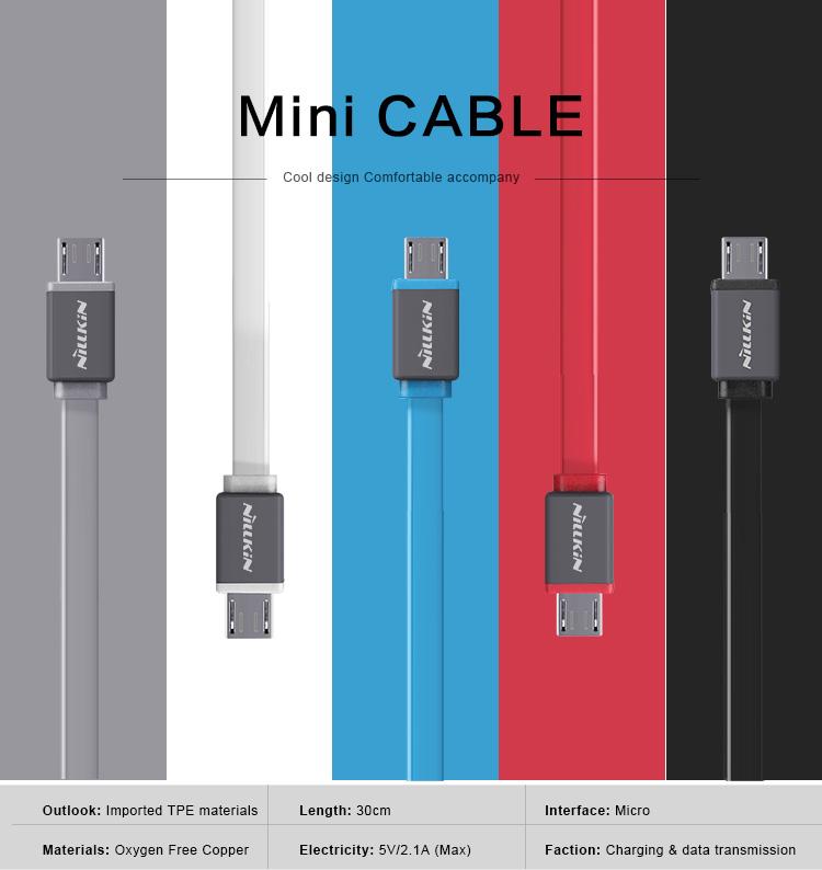 สายชาร์จ Nillkin Charge & Data Mini Cable Micro USB