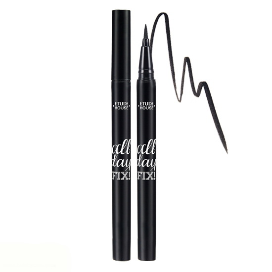 Etude House All Day FixPen Liner #Black สีดำ
