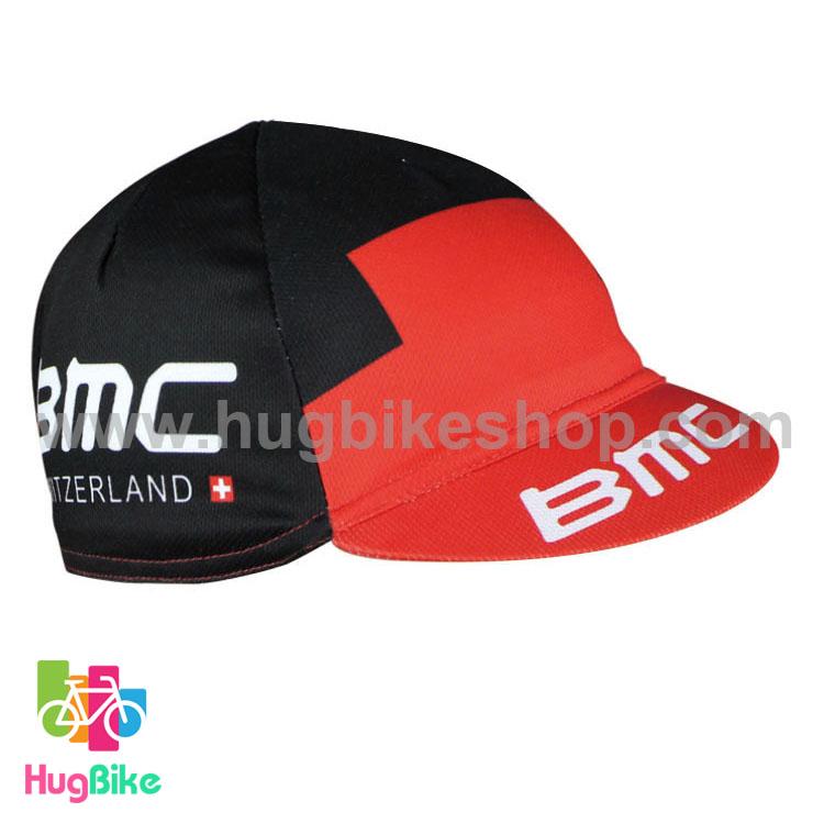 หมวกแก๊บ BMC 16 (01) สีดำแดง