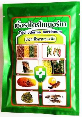 เชื้อราไตรโคเดอร์มา ชีวภัณฑ์กำจัดโรคพืช