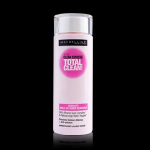 CLEAN EXPRESS ABSOLUTE MILK-TO-TONER REMOVER คลีน เอ๊กซ์เพรส แอ๊บโซลูท มิลค์-ทู-โทนเนอร์ รีมูฟเวอร์ ปริมาณ 120 มล.