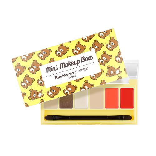 A'PIEU Mini Make Up Box Rilakkuma Edition [No.1 Modern & Trendy]