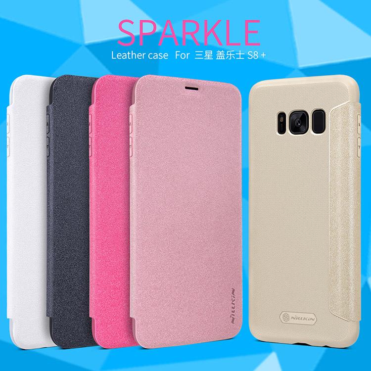 เคสมือถือ Samsung Galaxy S8+ รุ่น Sparkle Leather Case