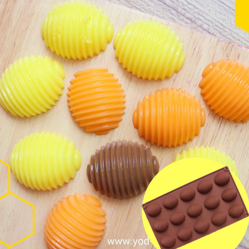 พิมพ์ขนม รังผึ้ง ขนาด 20 กรัม B648