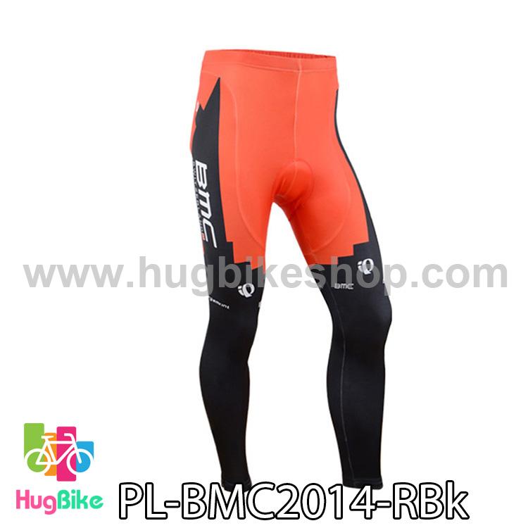 กางเกงจักรยานขายาวทีม BMC 14 สีแดงดำ สั่งจอง (Pre-order)