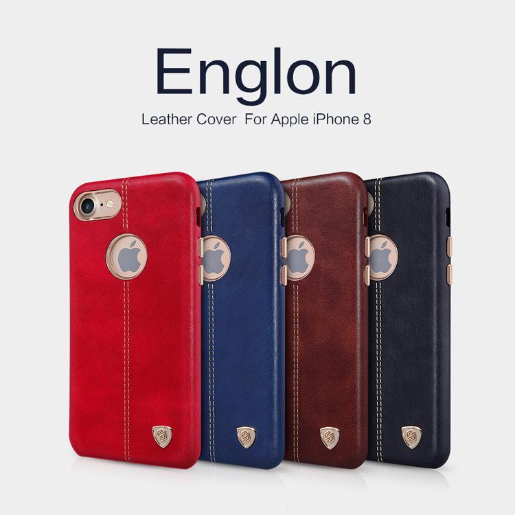 เคสมือถือ Apple iPhone 8 รุ่น Englon Leather Cover