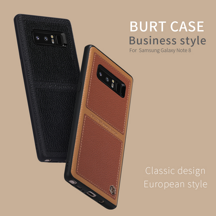 เคสมือถือ Samsung Galaxy Note 8 รุ่น Burt Case Business Style