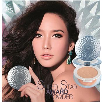 Mistine Super Star Award Powder SPF25 PA++ แป้งที่ได้รับรางวัลระดับโลก S1 ผิวขาว