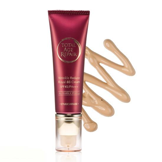 Etude House Total Age Repair Wrinkle Reduce Royal BB Cream SPF45/PA+++ 50g. [ No.2:ผิวธรรมดา ] เคาน์เตอร์ไทย