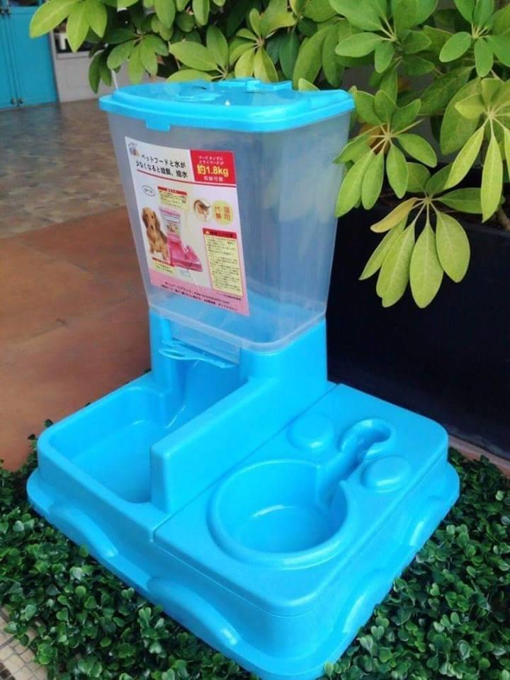 ที่ให้อาหาร + น้ำ รุ่นอัติโนมัติ