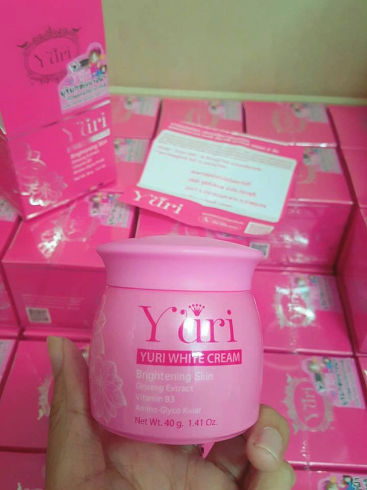 Yuri White Cream โสมยูริแพ็คเกจใหม่ 40 กรัม