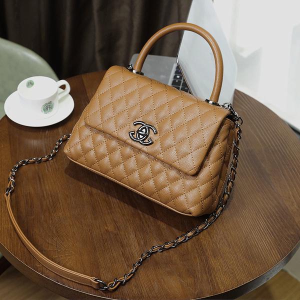 กระเป๋าหนัง รุ่น co-co (Brown)