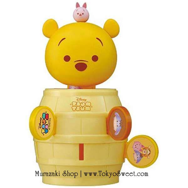 พร้อมส่ง ** Disney TSUM TSUM Jumping Pirate [Winnie the Pooh] เกมแทงดาบในถังโจรสลัด มาในรูปแบบตัวละครดิสนีย์สุดน่ารัก [หมีพูห์]