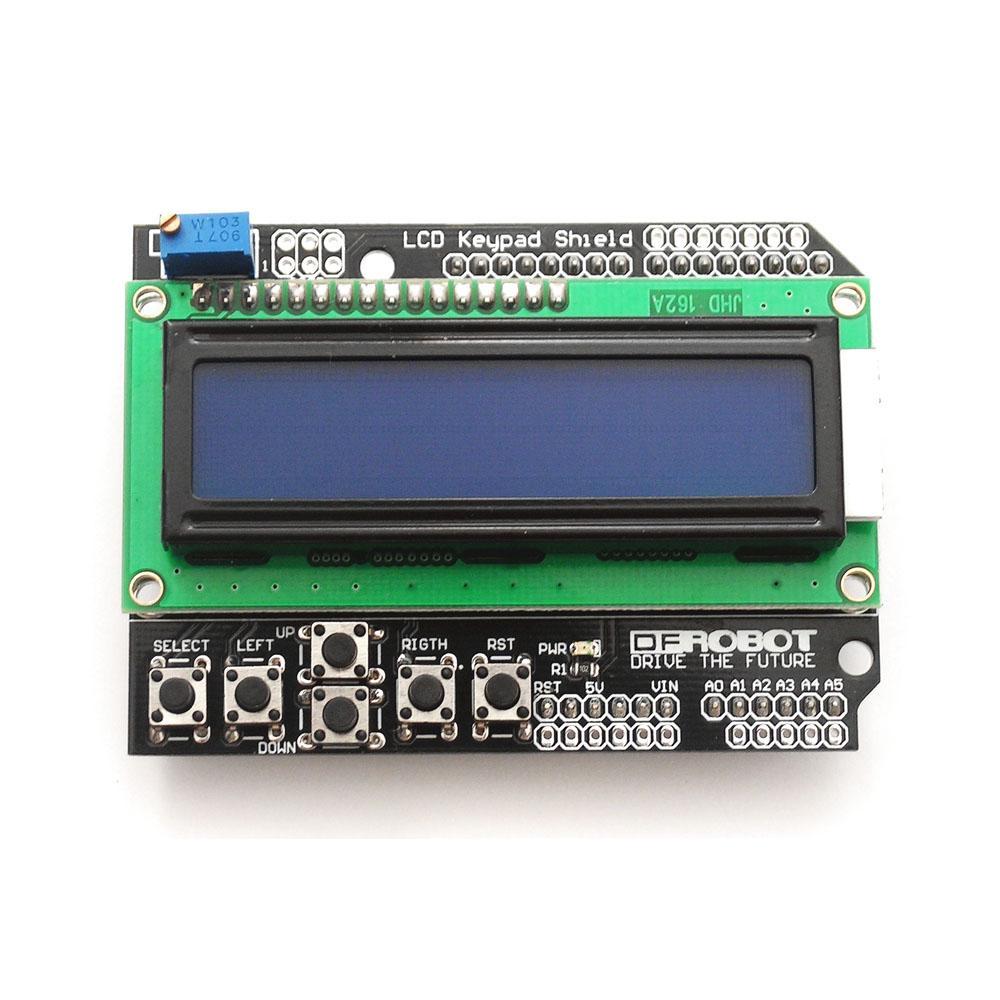 LCD 16x2 Sheild สำหรับบอร์ด Arduino / Arduino Board /Arduino UNO/ Arduino MEGA / Arduino DUE