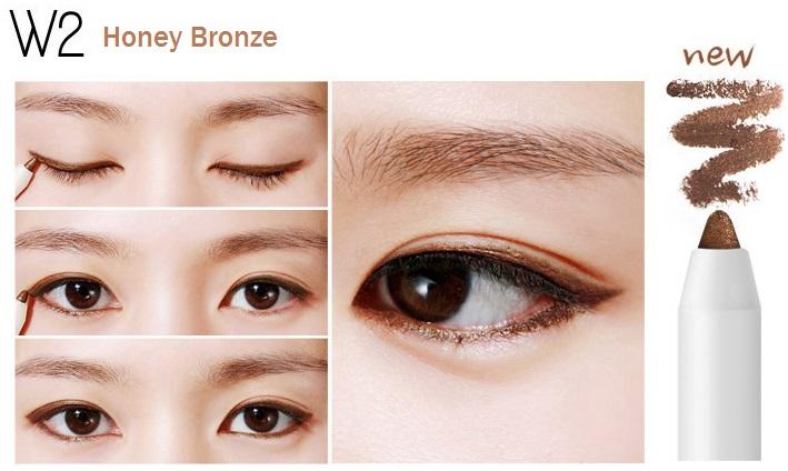 ++พร้อมส่ง++BBIA Last Auto Gel Eyeliner 0.5g สี W2 Honey Bronze อายไลน์เนอร์เนื้อเจล เขียนง่าย เส้นคมสวย แห้งเร็ว กันน้ำ ติดทนนาน