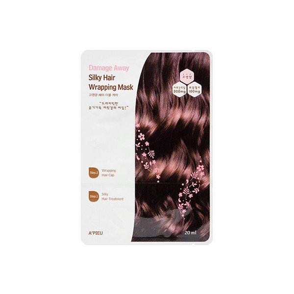 ++Pre order++A'Pieu Damage Away Silky Hair Wrapping Mask