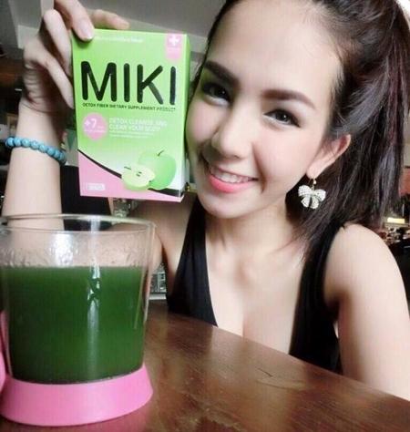 Miki Detox Fiber มิกิ ดีท๊อกไฟเบอร์ ล้างสารพิษ รสแอ๊ปเปิ้ล ทานง่ายอร่อยไม่เหม็น