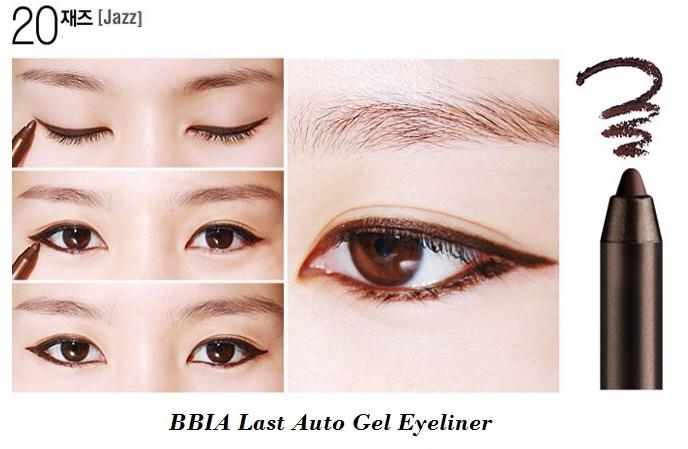 ++พร้อมส่ง++BBIA Last Auto Gel Eyeliner 0.5g สี น้ำตาลเข้ม (jazz) อายไลน์เนอร์เนื้อเจล เขียนง่าย เส้นคมสวย แห้งเร็ว กันน้ำ ติดทนนาน