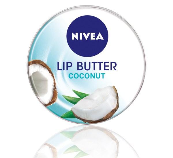 ++พร้อมส่ง++NIVEA Lip Butter Coconut 16.7g ลิปบัตเตอร์(มะพร้าว ) ไม่เหนียวเหนอะหนะ ให้ริมฝีปากชุ่มชื้น ไม่แห้งแตก ตลอดวัน