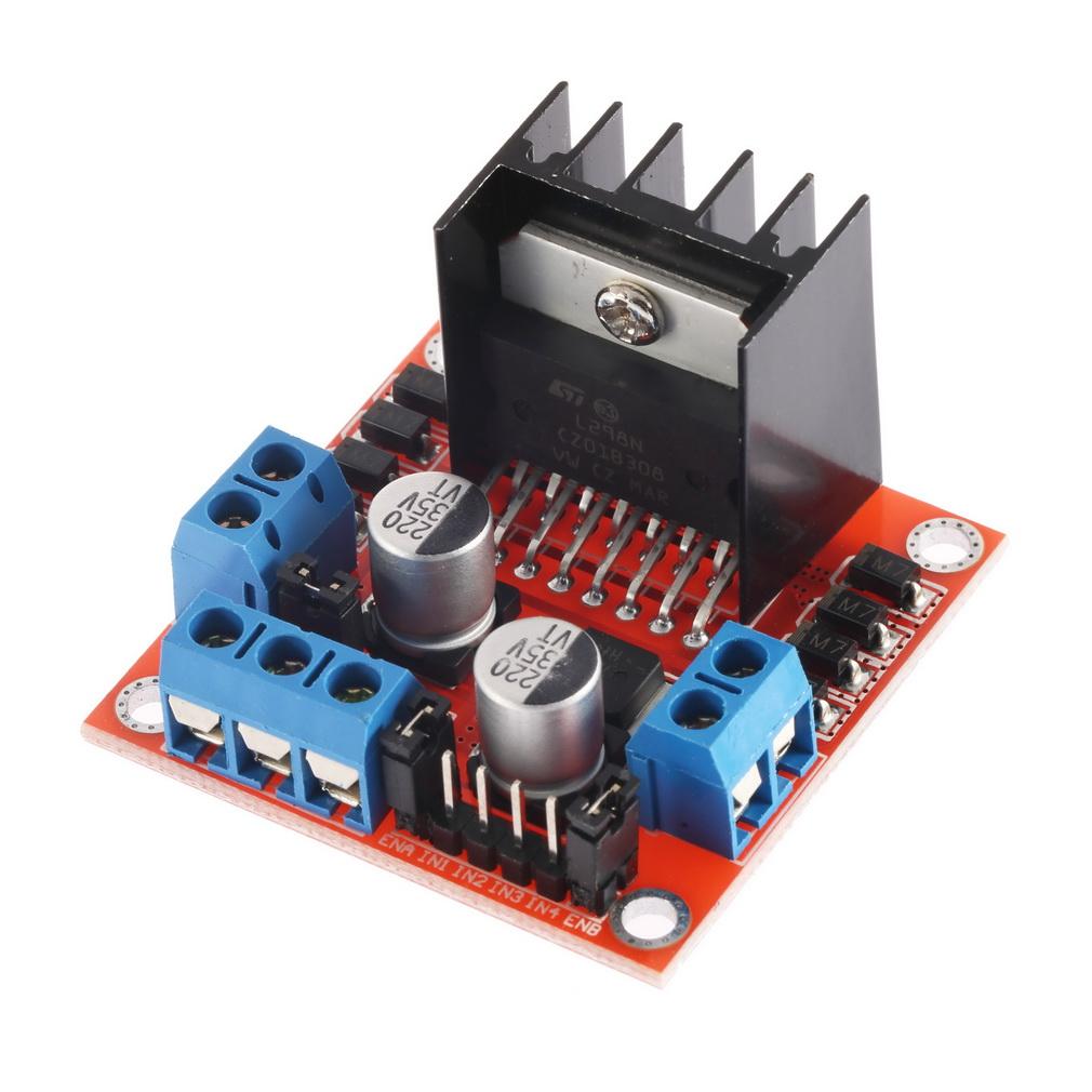 Dual H Bridge DC Stepper Motor Drive Controller Board Module L298N for Arduino