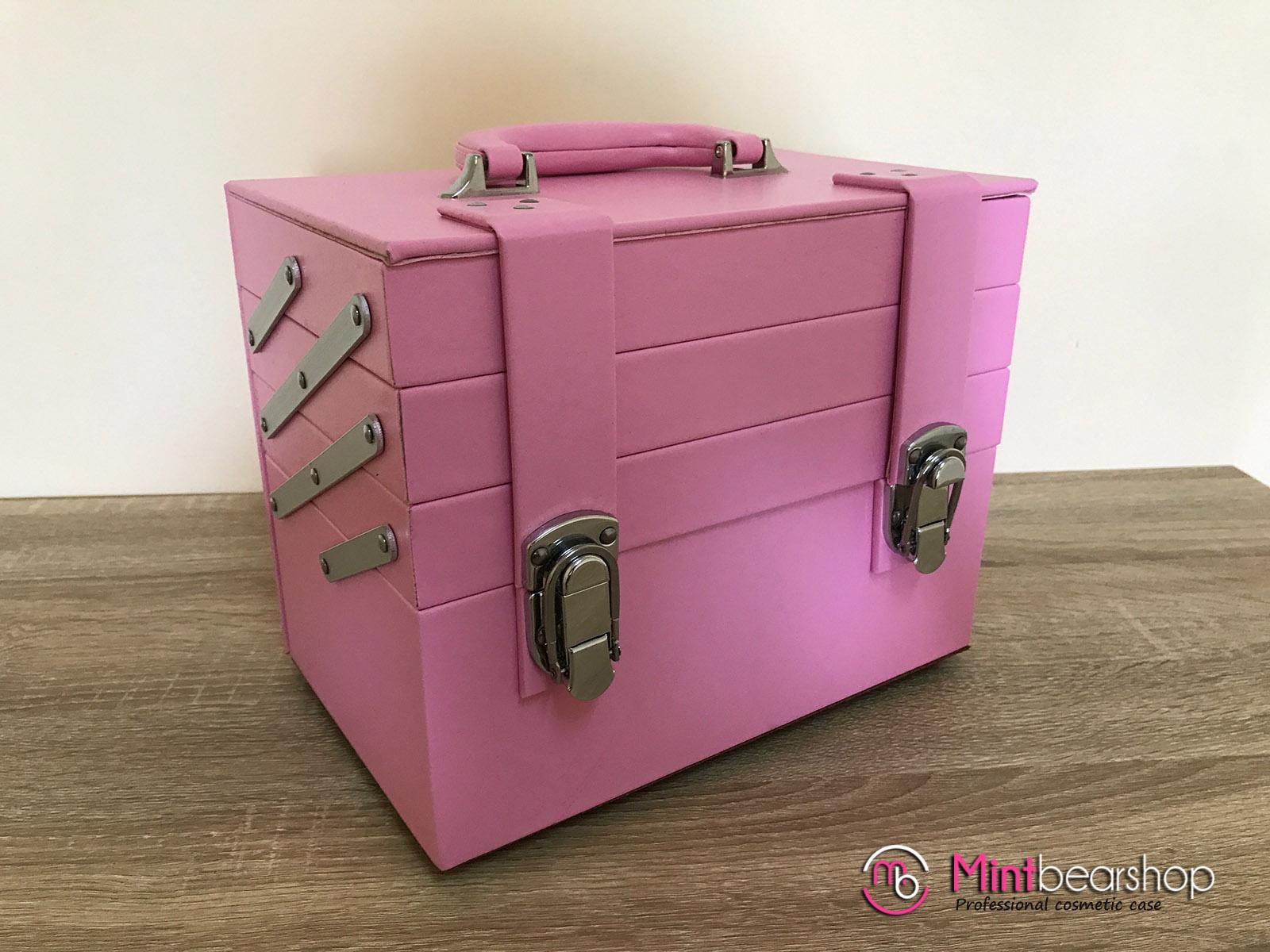 กระเป๋าเครื่องสำอางค์ BB03 สีชมพู
