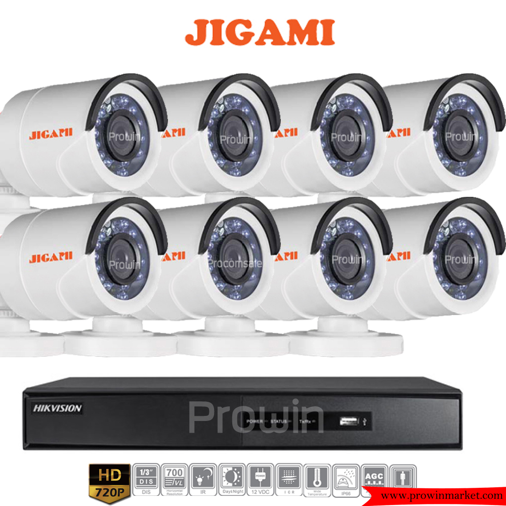 JIGAMI (( Camera+DVR set8 )) D16C0TIRP x8 7208HGHI-F1 x1