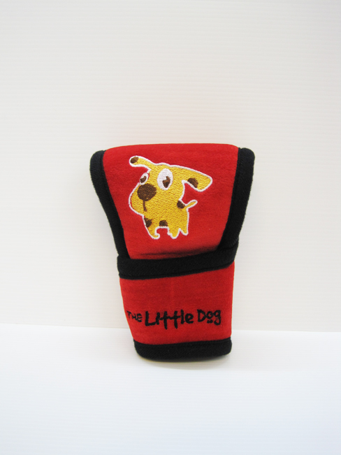 หุ้มหัวเกียร์ Little Dog ออโต้ (แดง)